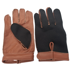 Leather Palms And Neoprene Backs Keeps You Warmer When Wet