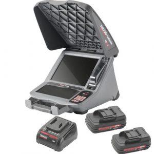 Ridgid CS12X Digital Recording Monitor Wi-Fi 2 Battery Kit